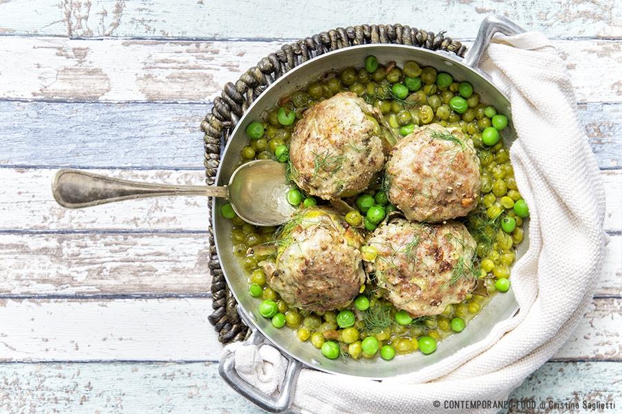 carciofi-ripieni-con-carne-piselli-secondo-ricetta-facile-contemporaneo food
