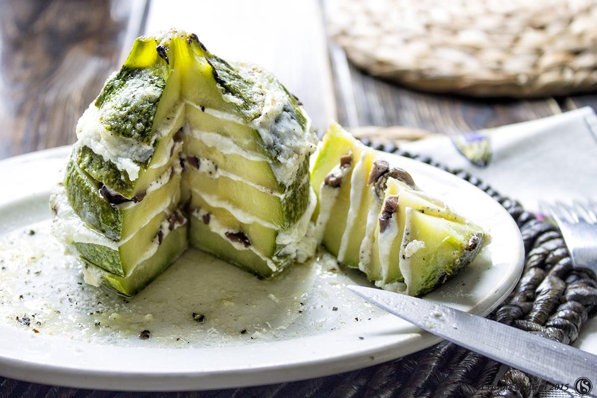 zucchine,tonde,al,forno,primi,ricette,estive,contemporaneo,