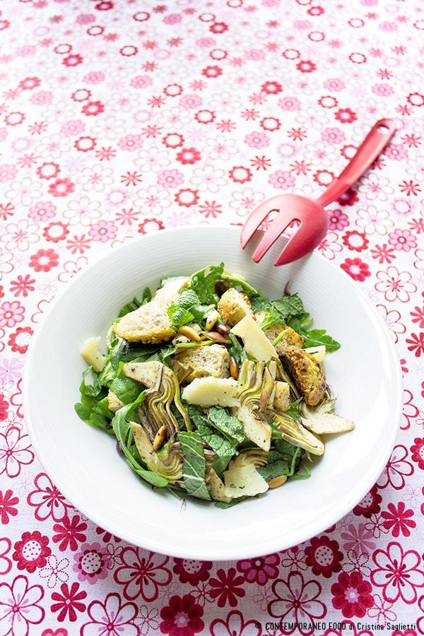 insalata-carciofi-menta-pecorino-ricetta-contorni-contemporaneo-food