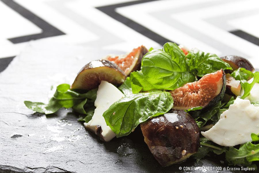 insalata-fichi-caprino-basilico-1-contemporaneo-food