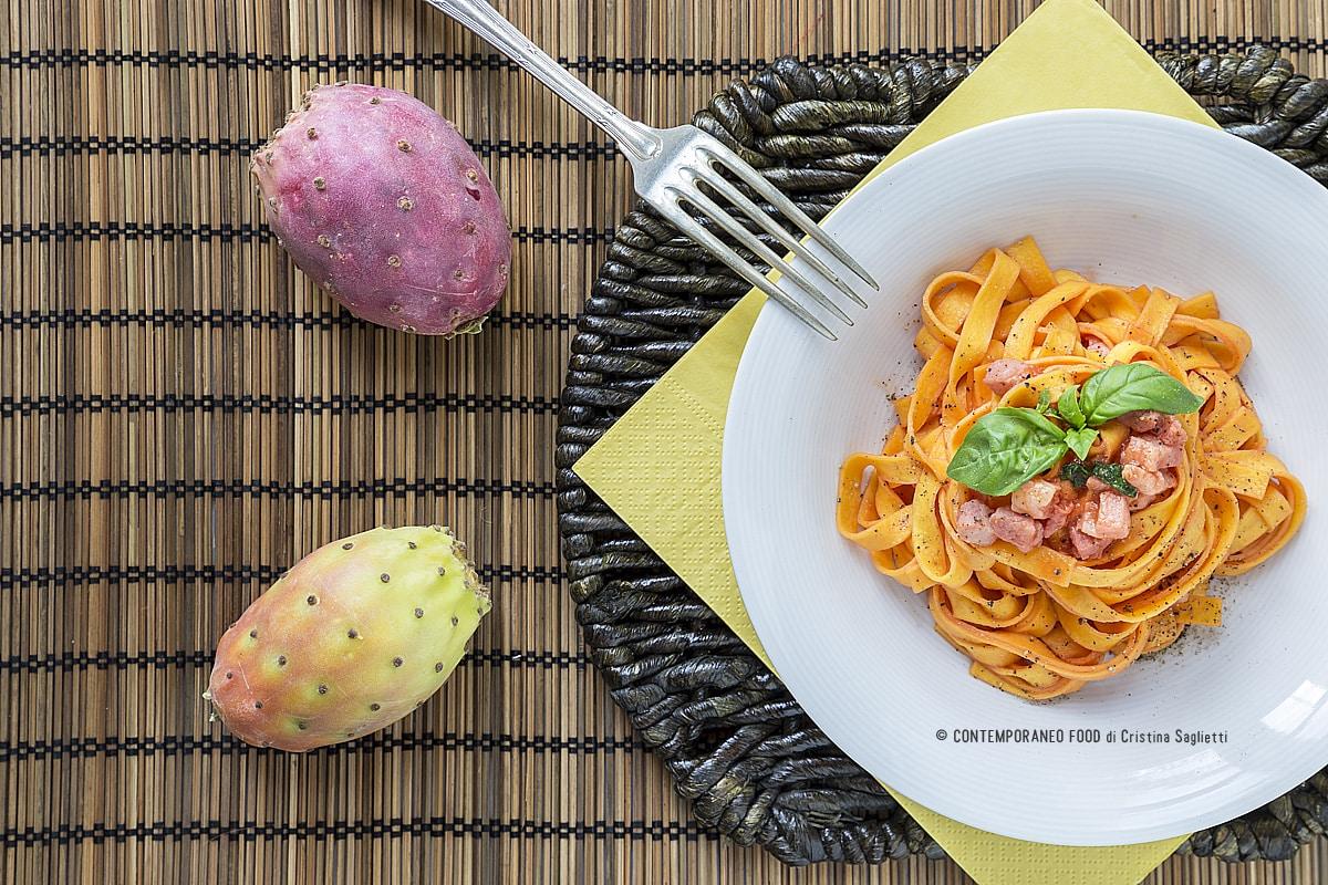 tagliatelle-fichi-india-pancetta-affumicata-ricetta-primi-frutta-contemporaneo-food