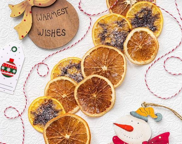Cestini di pane carasau allo stracchino e sale affumicato for Arance essiccate decorazioni