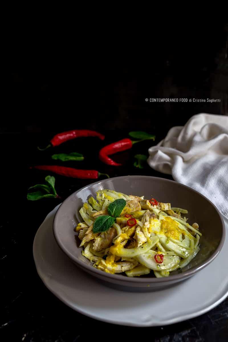 insalata-di-pollo-finocchi-con-salsa-arancia-miele-curry-ricetta-last-minute-veloce-facile-contemporaneo-food