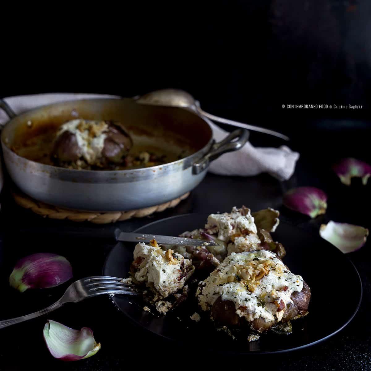 carciofi-ripieni-ricotta-nocciole-ricetta-light-facile-contemporaneo-food
