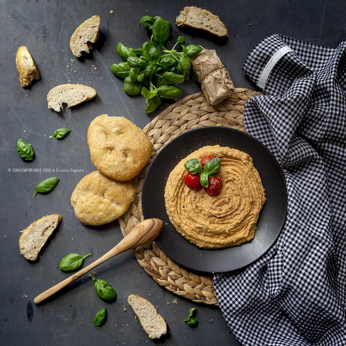 hummus-pomodorini-confit-ricetta-light-vegetariana-dieta-contemporaneo-food