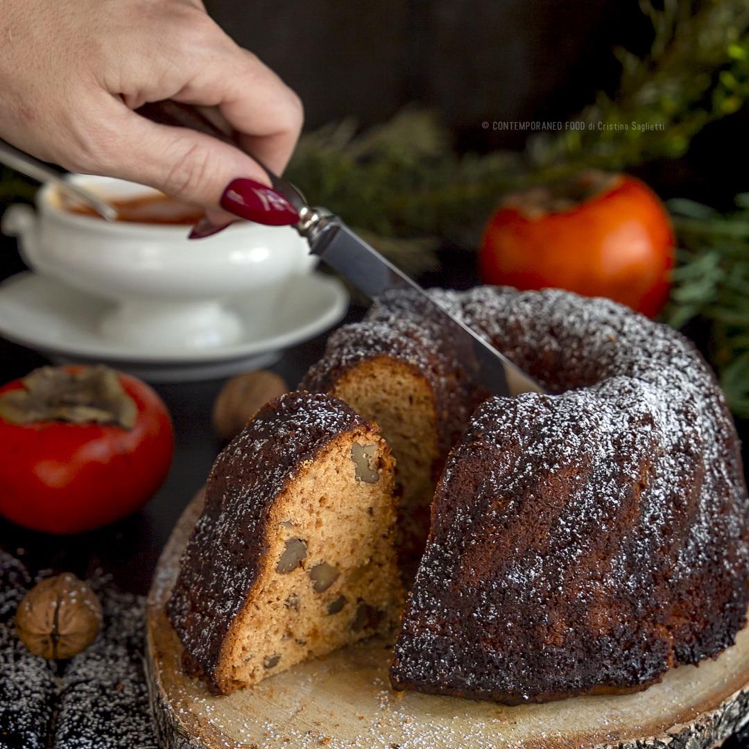 bundt-cake-cachi-noci-con-coulis-di-cachi-rum-colazione-merenda-dolce-facile-contemporaneo-food
