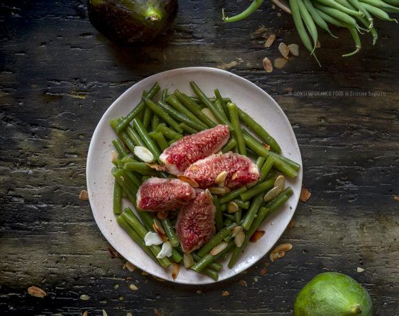 fagiolini-in-insalata-con-fichi-e-mandorle-insalata-estiva-contemporaneo-food-ricetta-facile