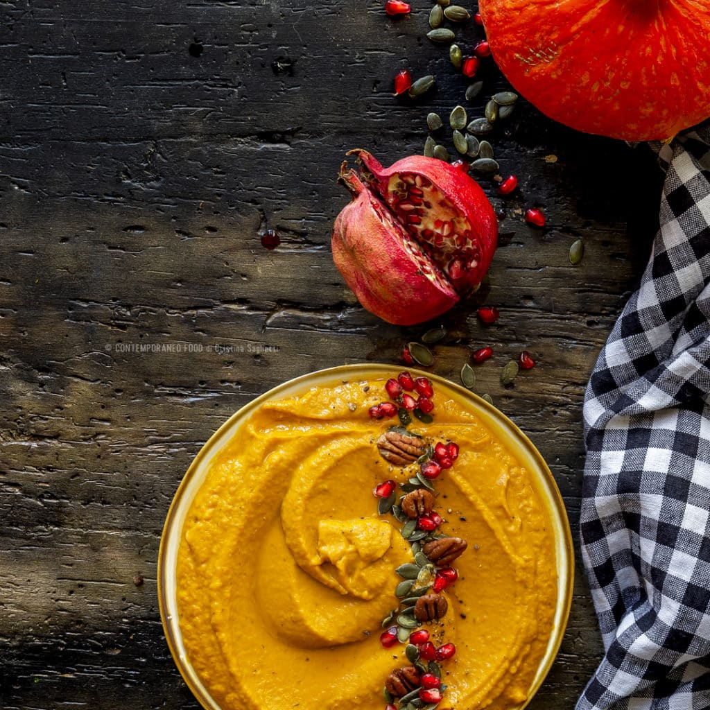 hummus-di-zucca-con-noci-pecan-cucina-vegetariana-antipasto-ricetta-facile-contemporaneo-food