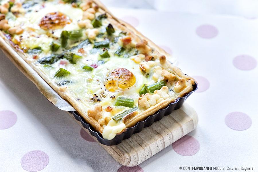 asparagi-uova-bacon-torta-salata-ricetta-facile-contemporaneo food