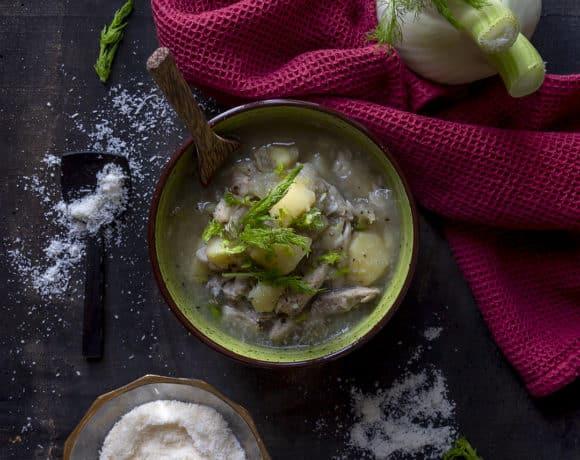 zuppa-finocchi-pollo-patate-minestra-leggera-ricetta-facile-contemporaneo-food