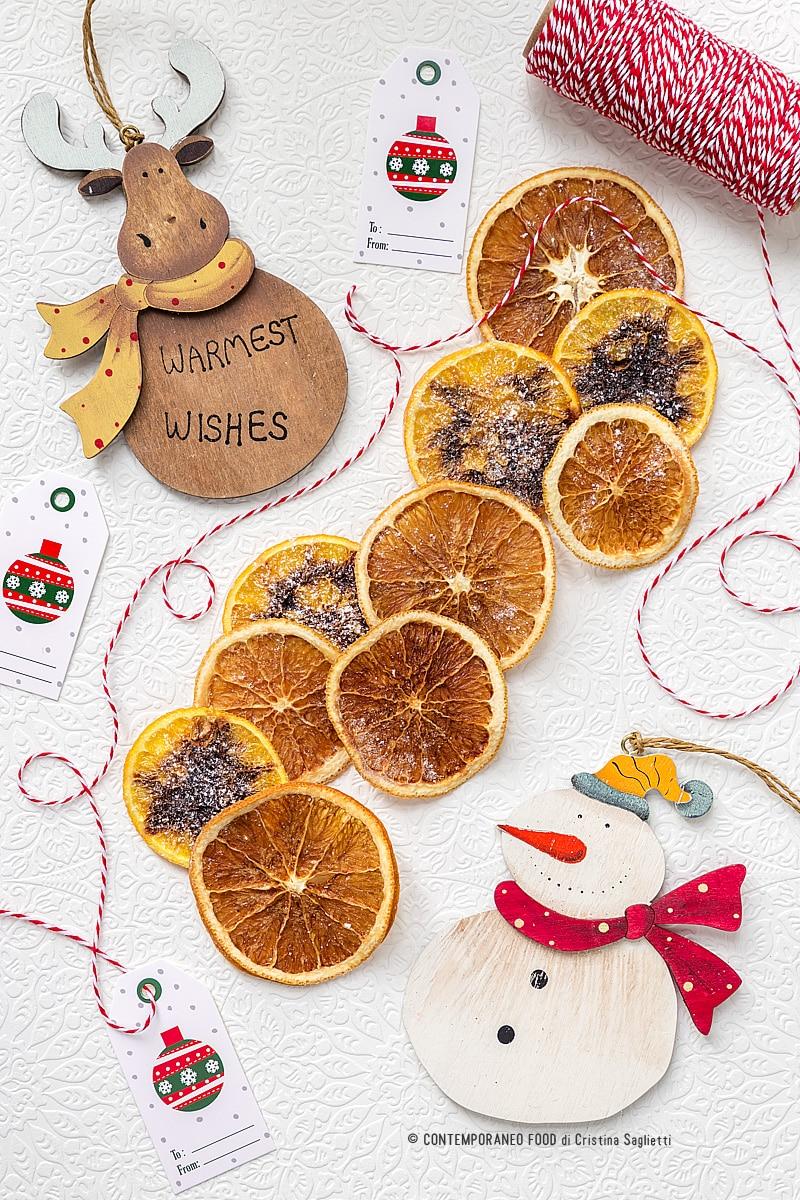 Addobbi Natalizi Con Frutta arance essiccate: tutti i trucchi per farle perfette