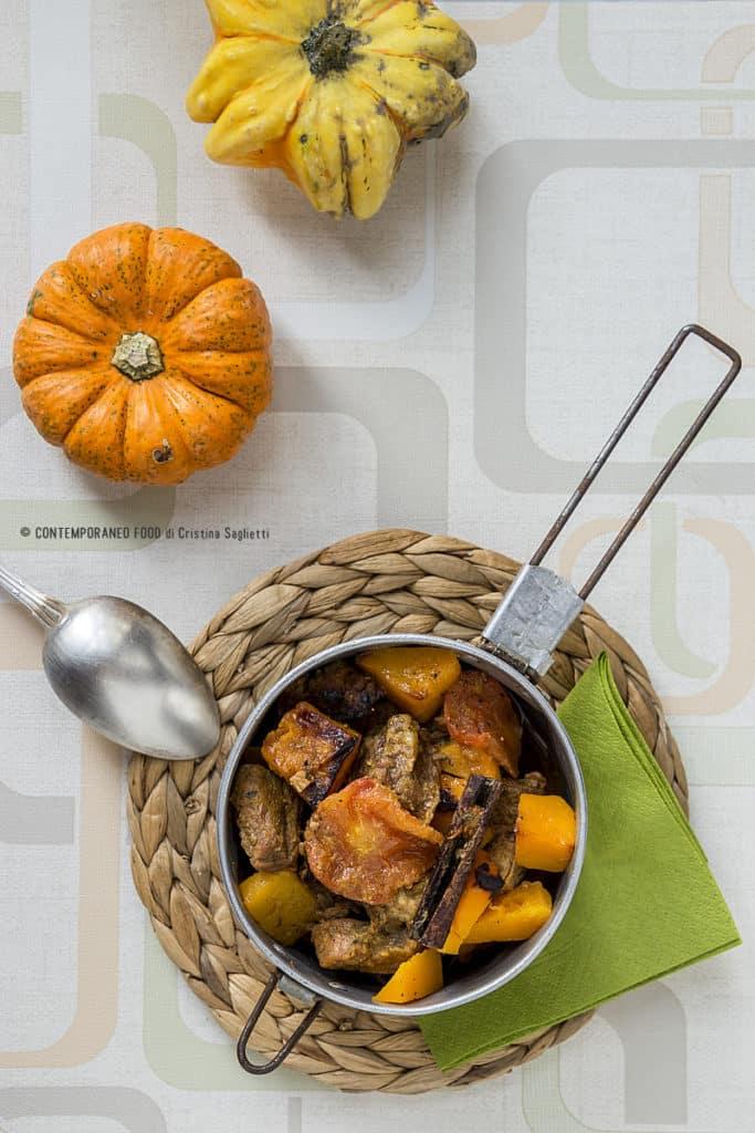 spezzatino-con-zucca-doppia cottura-secondi-carne-ricetta-contemporaneo-food