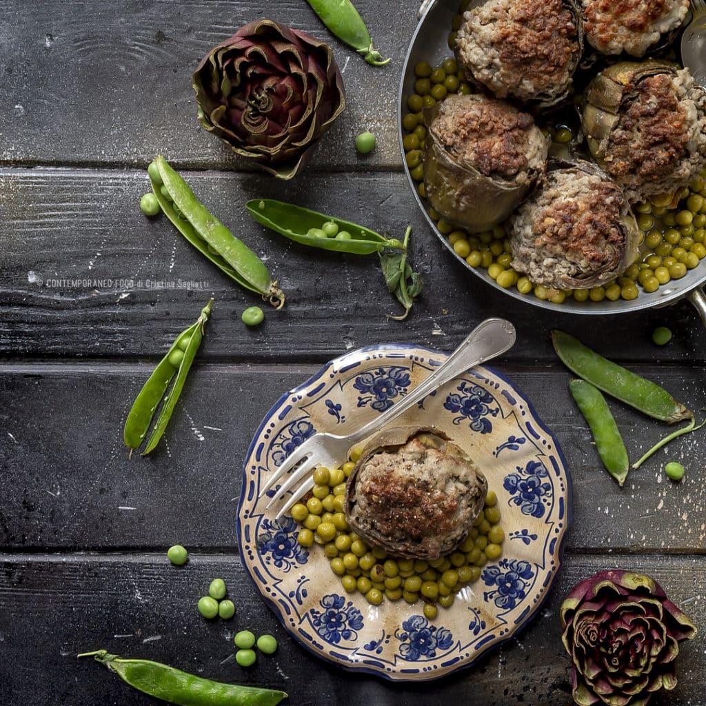 carciofi-ripieni-con-piselli-aneto-ricetta-secondo-carne-contemporaneo-food