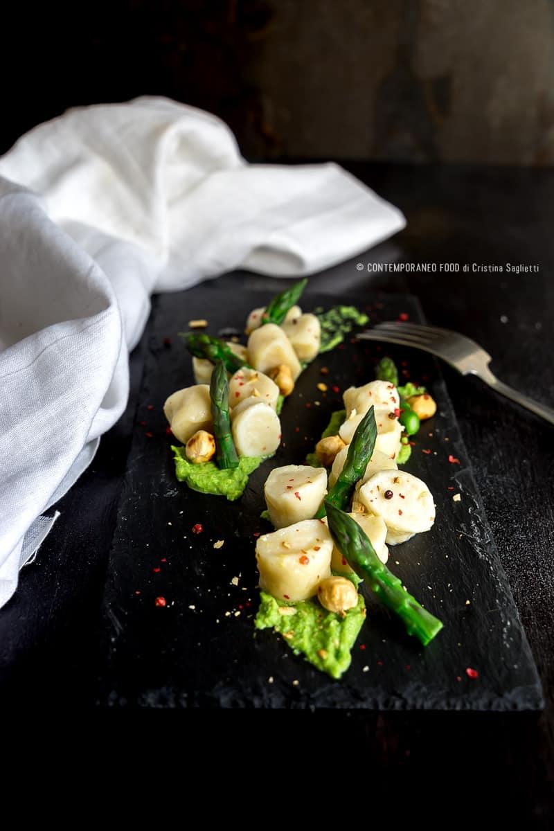 gnocchi-di-ricotta-crema-asparagi-nocciole-pepe-rosa-primi-ricetta-facile-formaggio-contemporaneo-food