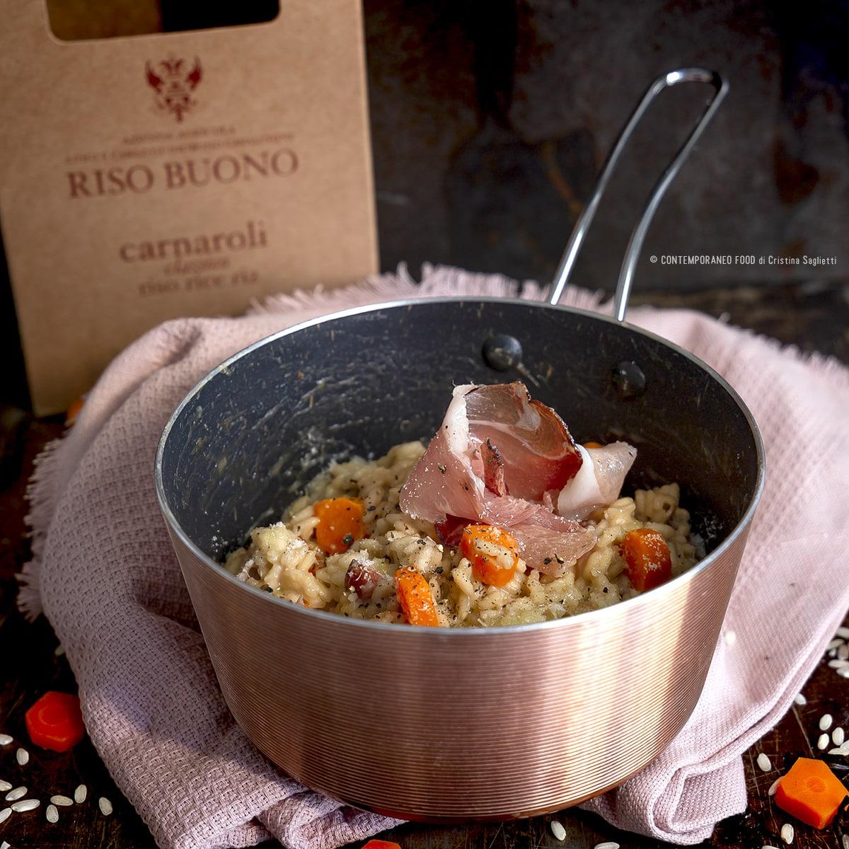 riso-buono-carnaroli-thé-lapsang-souchong-carote-speck-1-ricetta-primi-contemporaneo-food