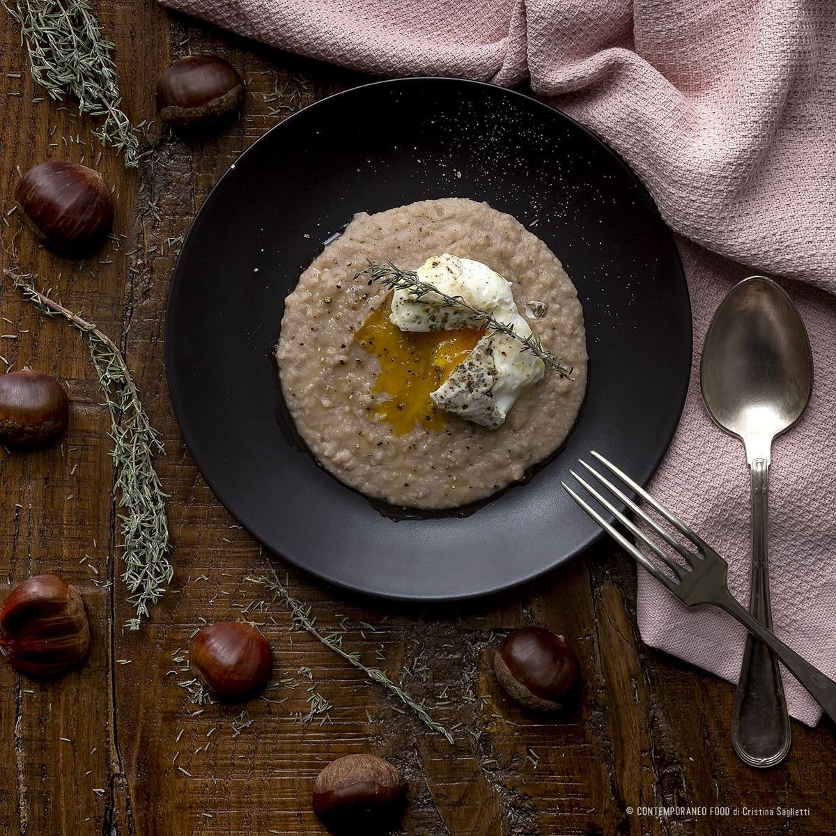 crema-di-castagne-uovo-poché-ricetta-facile-natale-contemporaneo-food