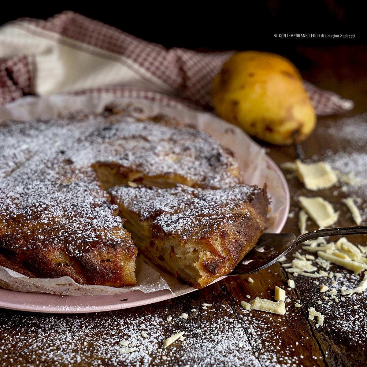 torta-pere-cioccolato-bianco-cognac-dolce-facile-con-la-frutta-contemporaneo-food