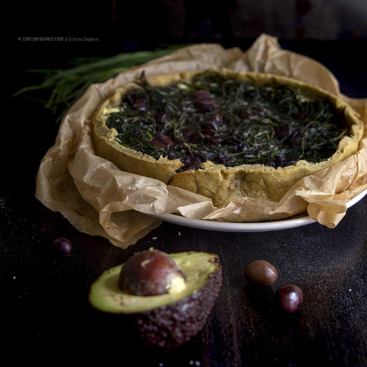 torta-salata-con-brisé-di-avocado-con-mascarpone-agretti-antipasto-contemporaneo-food