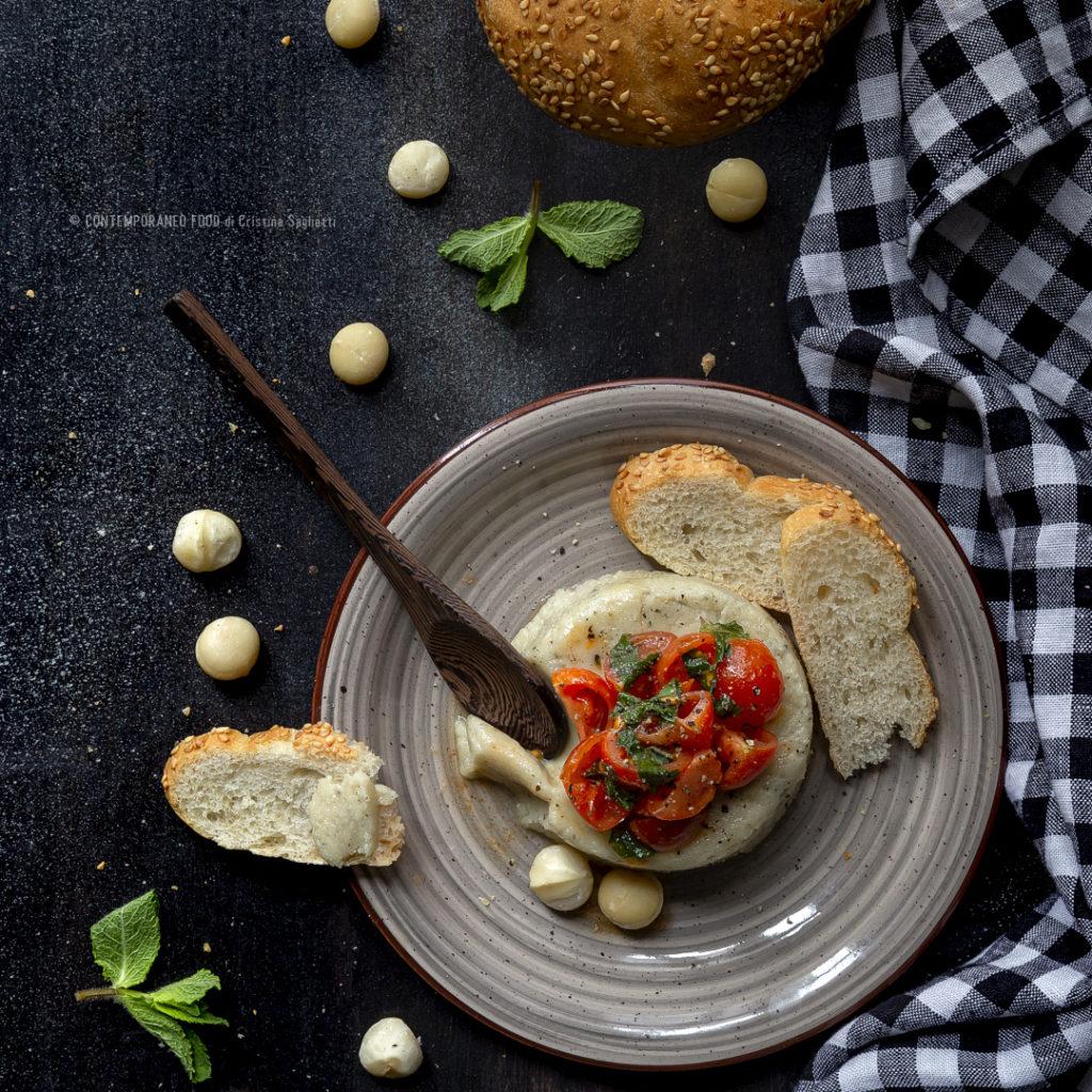 formaggio-di-noci-di-macadamia-antipasto-vegetariano-veloce-ricetta-veloce-contemporaneo-food
