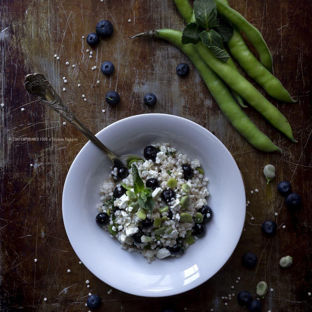 insalata-di-sorgo-fave-mirtilli-primo-senza-glutine-vegetariano-veloce-contemporaneo-food