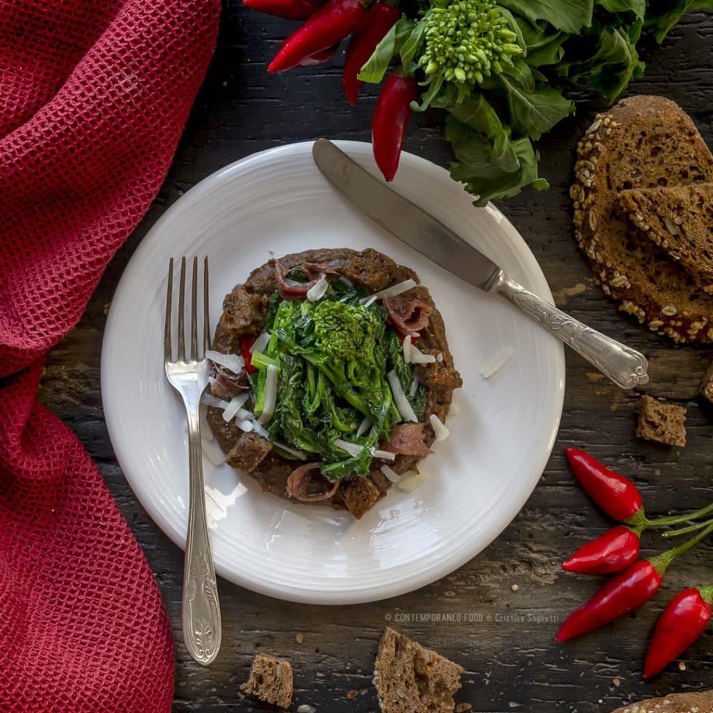 pancotto-con-cime-di-rapa-piccanti-antipasto-ricetta-facile-veloce-ricetta-vegetariana-contemporaneo-food