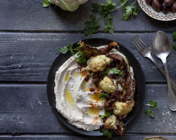 hummus-cavolfiore-cucina-vegetariana-ricetta-facile-veloce-antipasto-contemporaneo-food