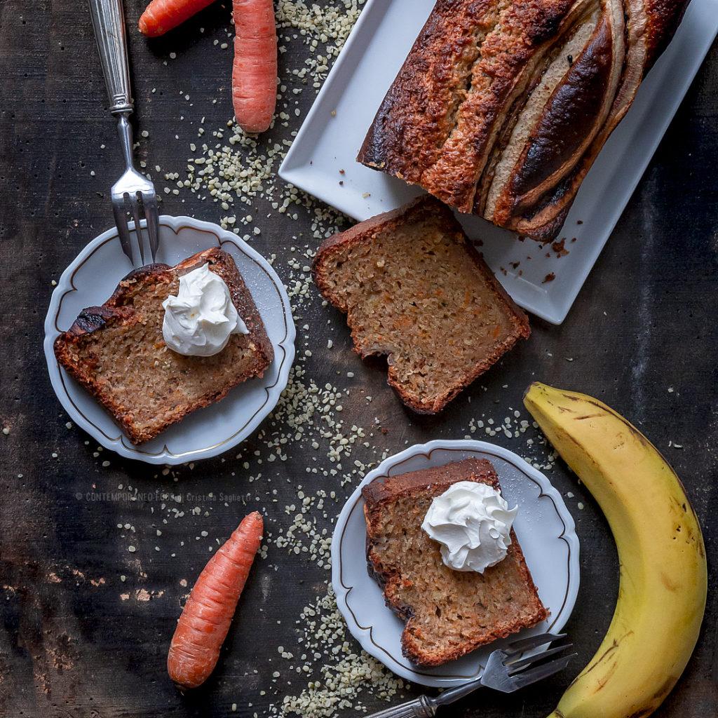 banana-bread-con-carote-mascarpoene-e-semi-di-canapa-dolce-facile-colazione-merenda-contemporaneo-food