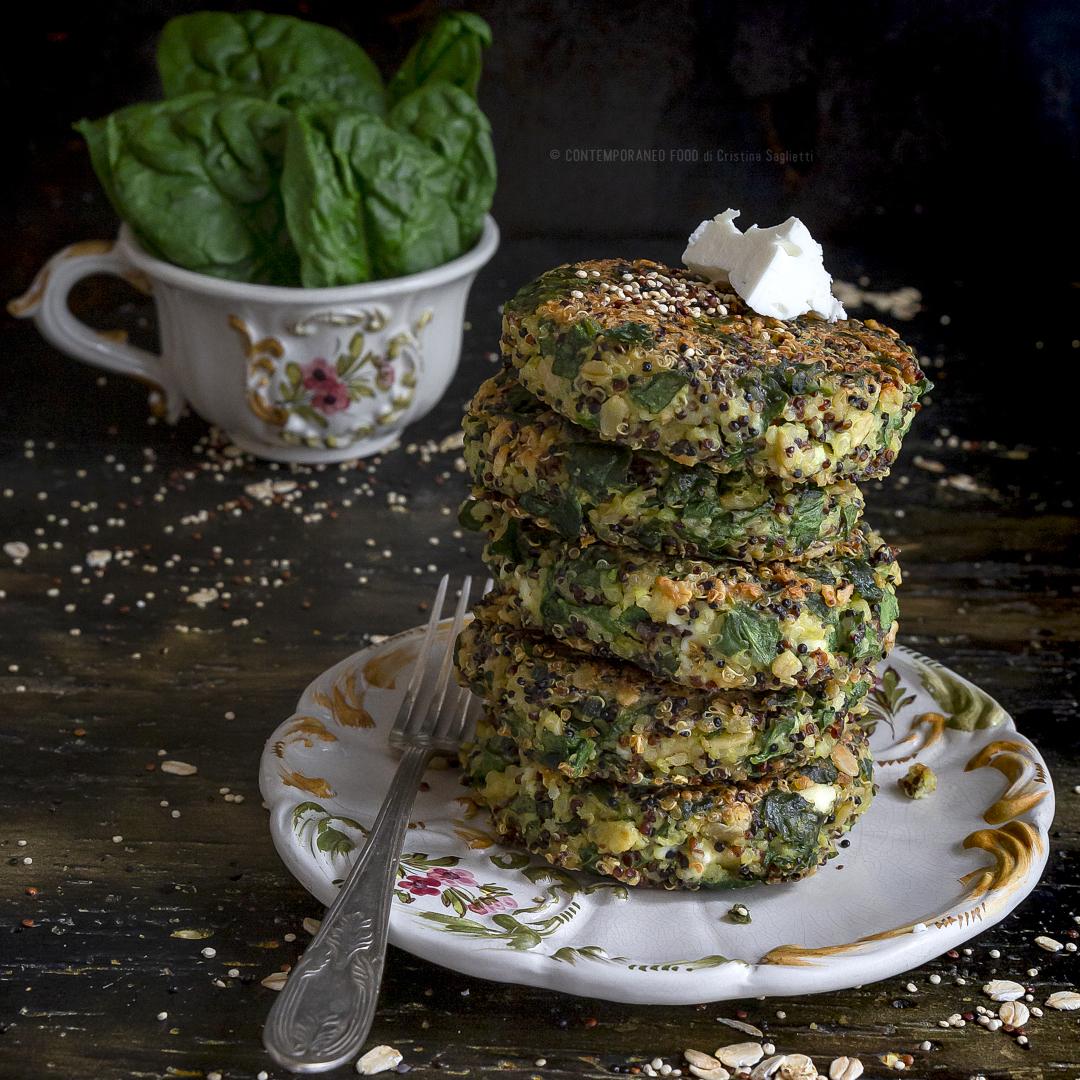 crocchette-quinoa-con-feta-spinaci-fiocchi-avena-ricetta-vegetariana-senza-glutine-primo-piatto-ricetta-facile-contemporaneo-food