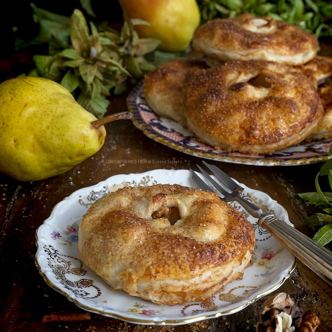 sfoglie-pere-noci-cannella-ricetta-facile-veloce-merenda-colazione-contemporaneo-food
