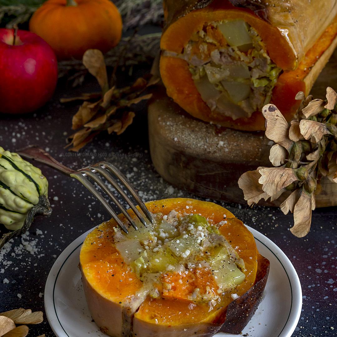 zucca-ripiena-al-forno-piatto-unico-ricetta-facile-contemporaneo-food