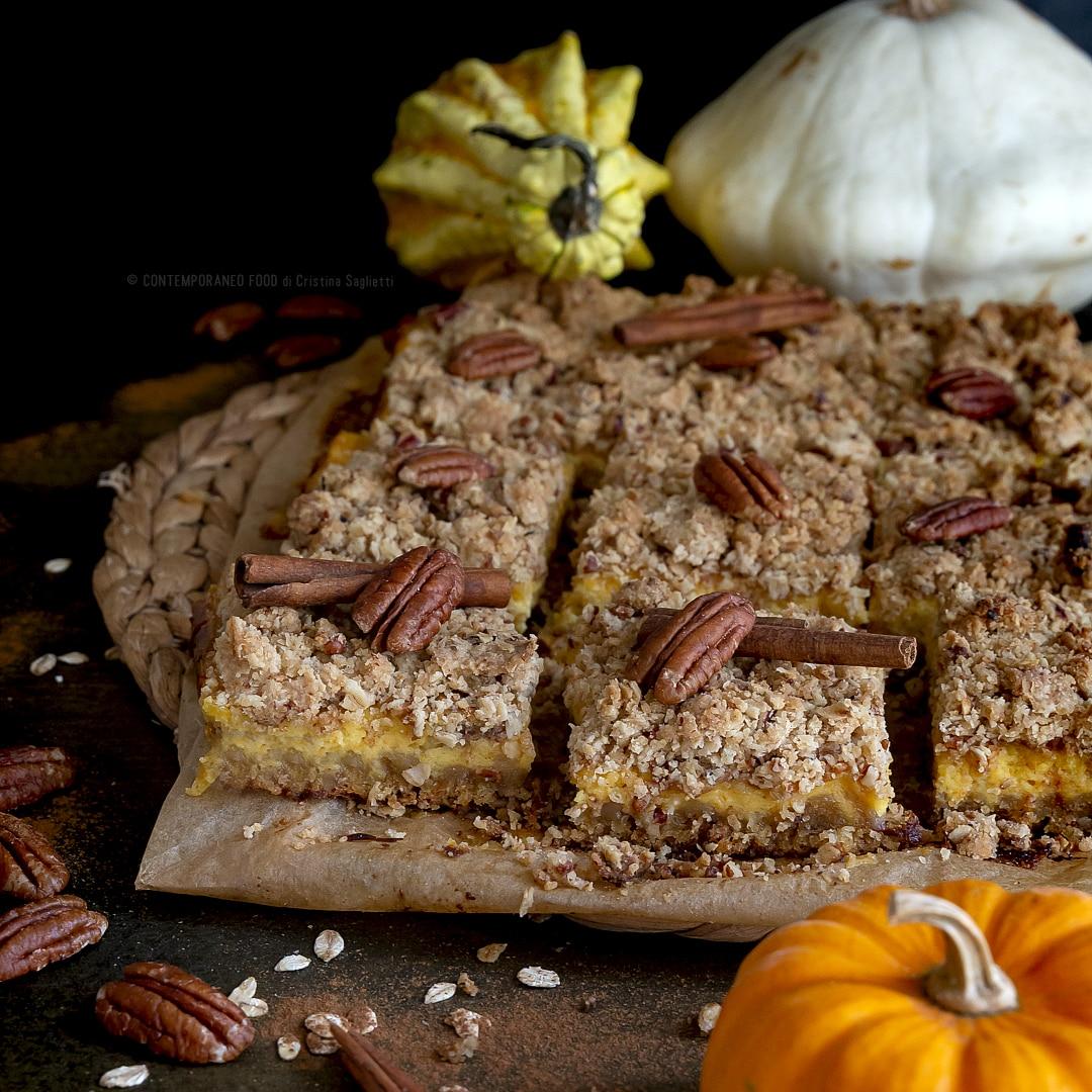 cheesecake-zucca-mascarpone-alla-vaniglia-crumble speziato-noci-pecan-dolce-facile-contemporaneo-food