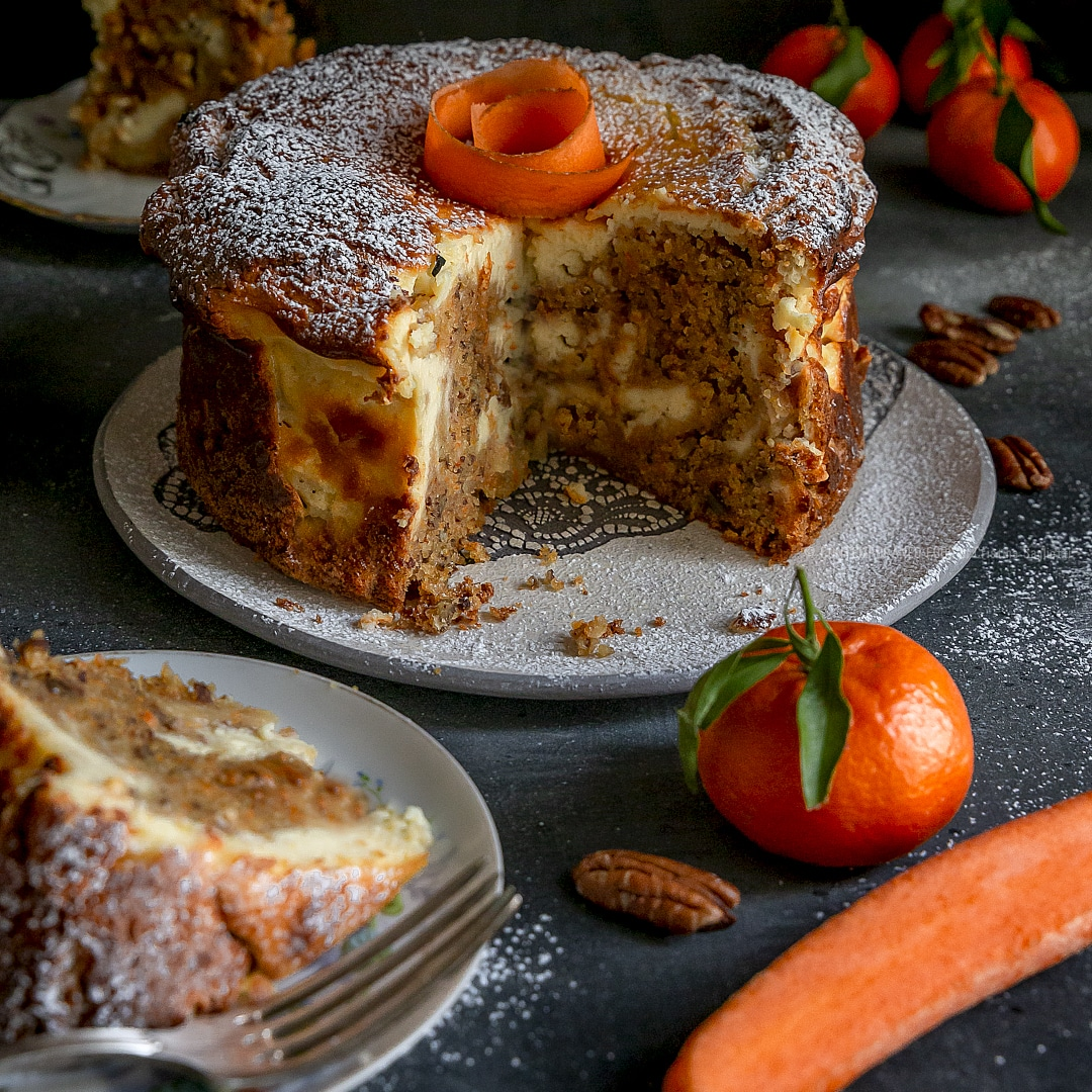 torta-di-carote-clementine-noci-pecan-variegata-cheesecake-yogurt-greco-vaniglia-torta-facile-merenda-contemporaneo-food