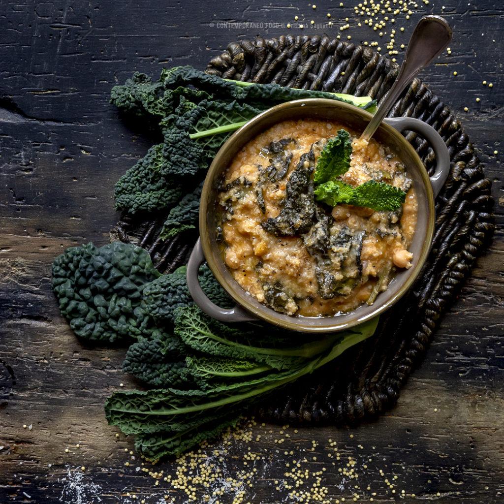 zuppa-miglio-cavolo-nero-ceci-primo-piatto-leggero-sano-contemporaneo-food