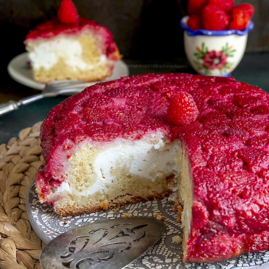 torta-soffice-rovesciata-lamponi-ricotta-torta-facile-merenda-contemporaneo-food
