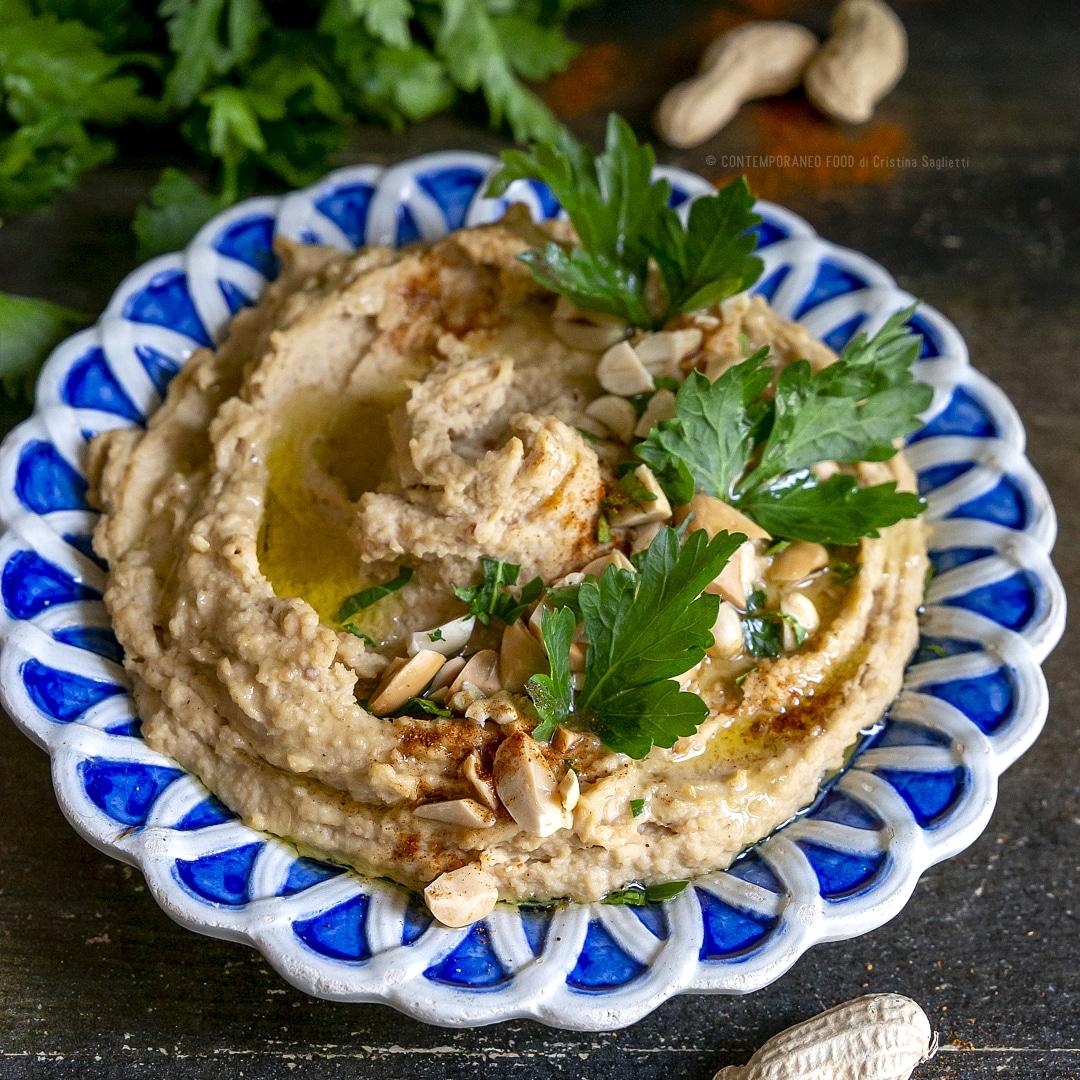 hummus-con-arachidi-antipasto-ricetta-facile-piatto-vegetariano-contemporaneo-food