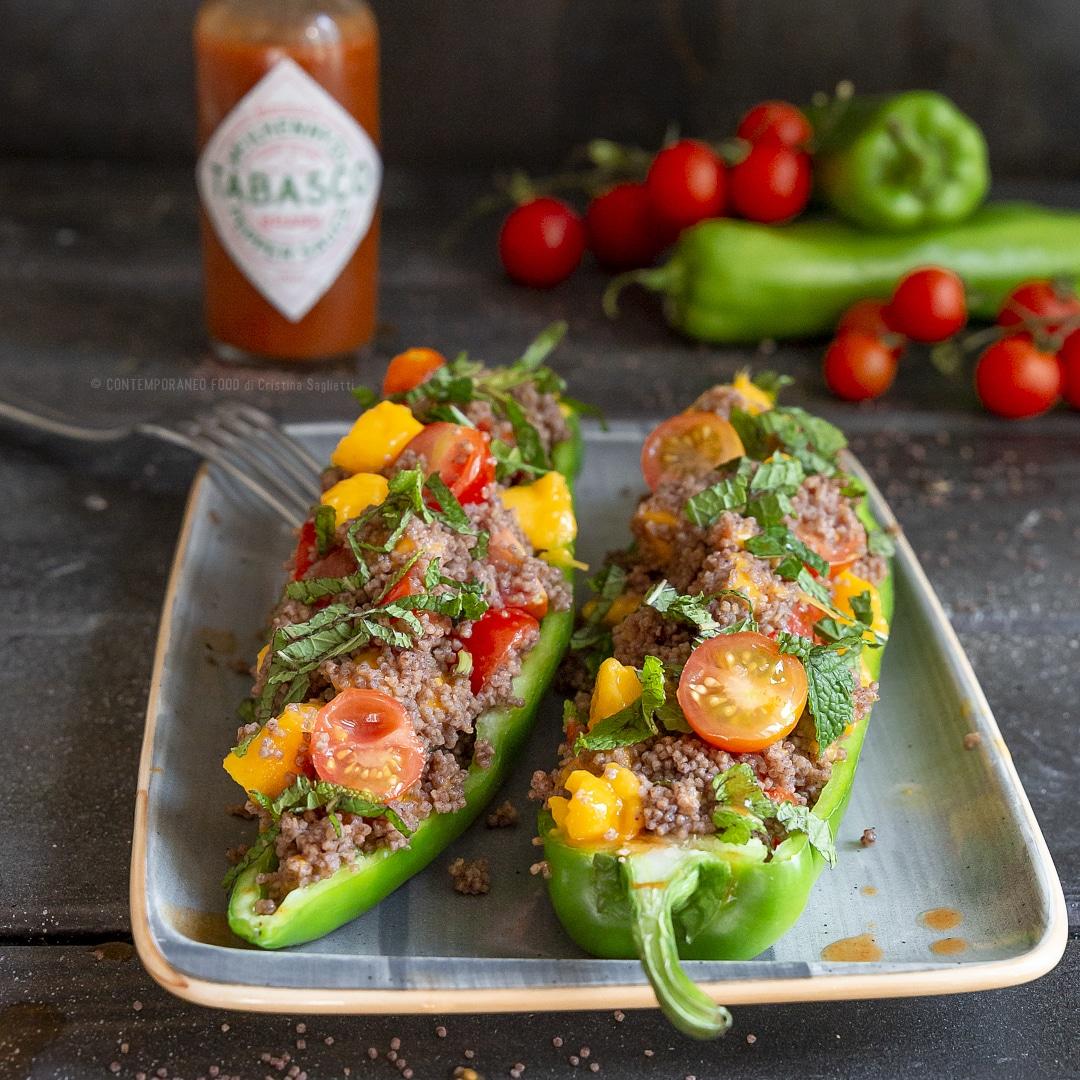 couscous-riso-venere-mango-pachino-menta-peperone-primo-leggero-estivo-contemporaneo-food