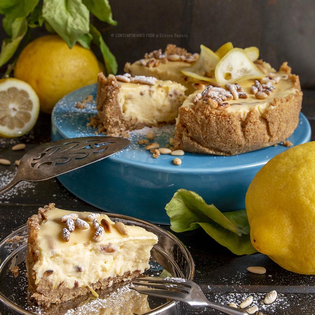 torta-cremosa-limone-pinoli-senza-cottura-dolce-facile-estivo-contemporaneo-food