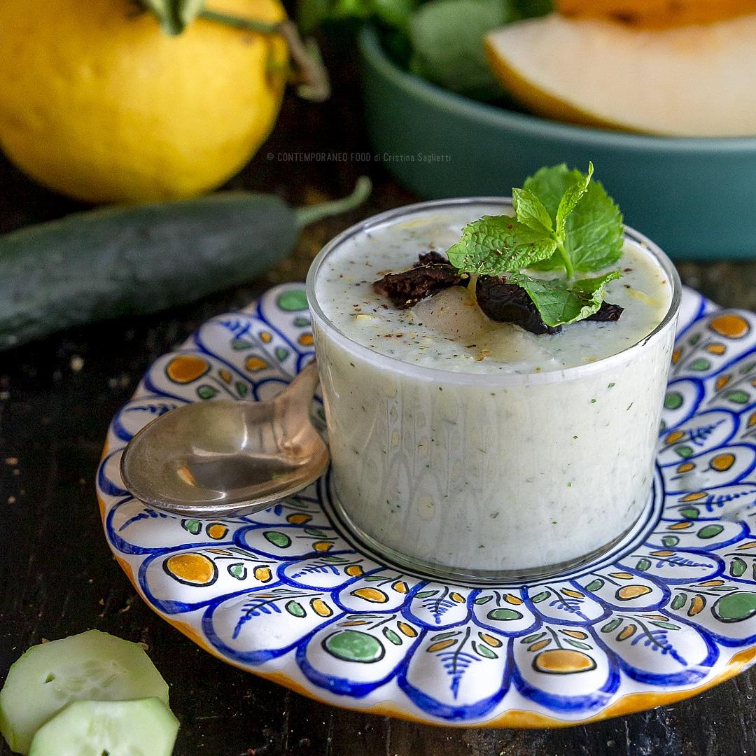 gazpacho-melone-bianco-yogurt-greco-ricetta-facile-veloce-estiva-vegetariana-contemporaneo-food