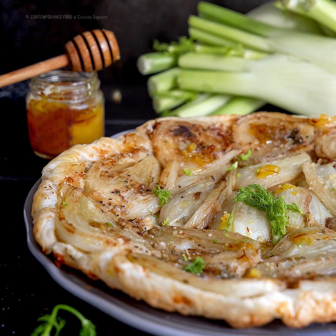 tarte-tatin-finocchi-con-miele-allo-zafferano-ricetta-salata-facile-veloce-contemporaneo-food