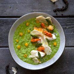rema-di-asparagi-con-gamberi-spadellati-coulis-di-mango-cialde-di-riso-croccanti-primo-facile-leggero-contemporaneo-food