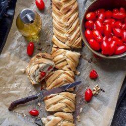 pizza-intrecciata-pachino-gorgonzola-noci-lievitato-facile-veloce-vegetariano-contemporaneo-food