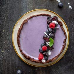 torta-panna-cotta-ai-mirtilli-e-base-al-cioccolato-senza-cottura-dolce-facile-merenda-contemporaneo-food
